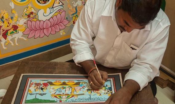 The story of Pattachitra