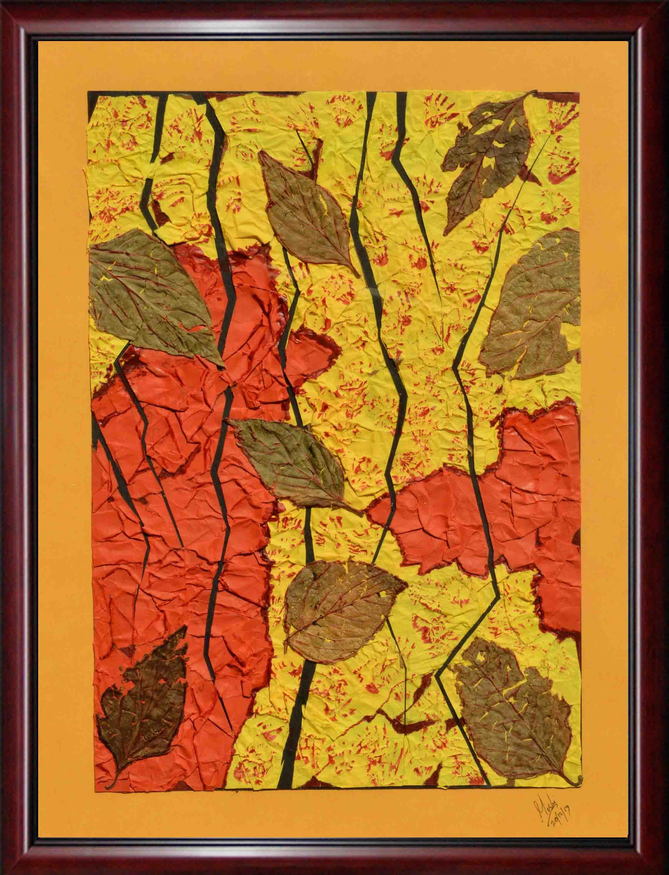 COLORS OF BARREN LAND - Mixed Media Wall Art Home Décor | World Art ...