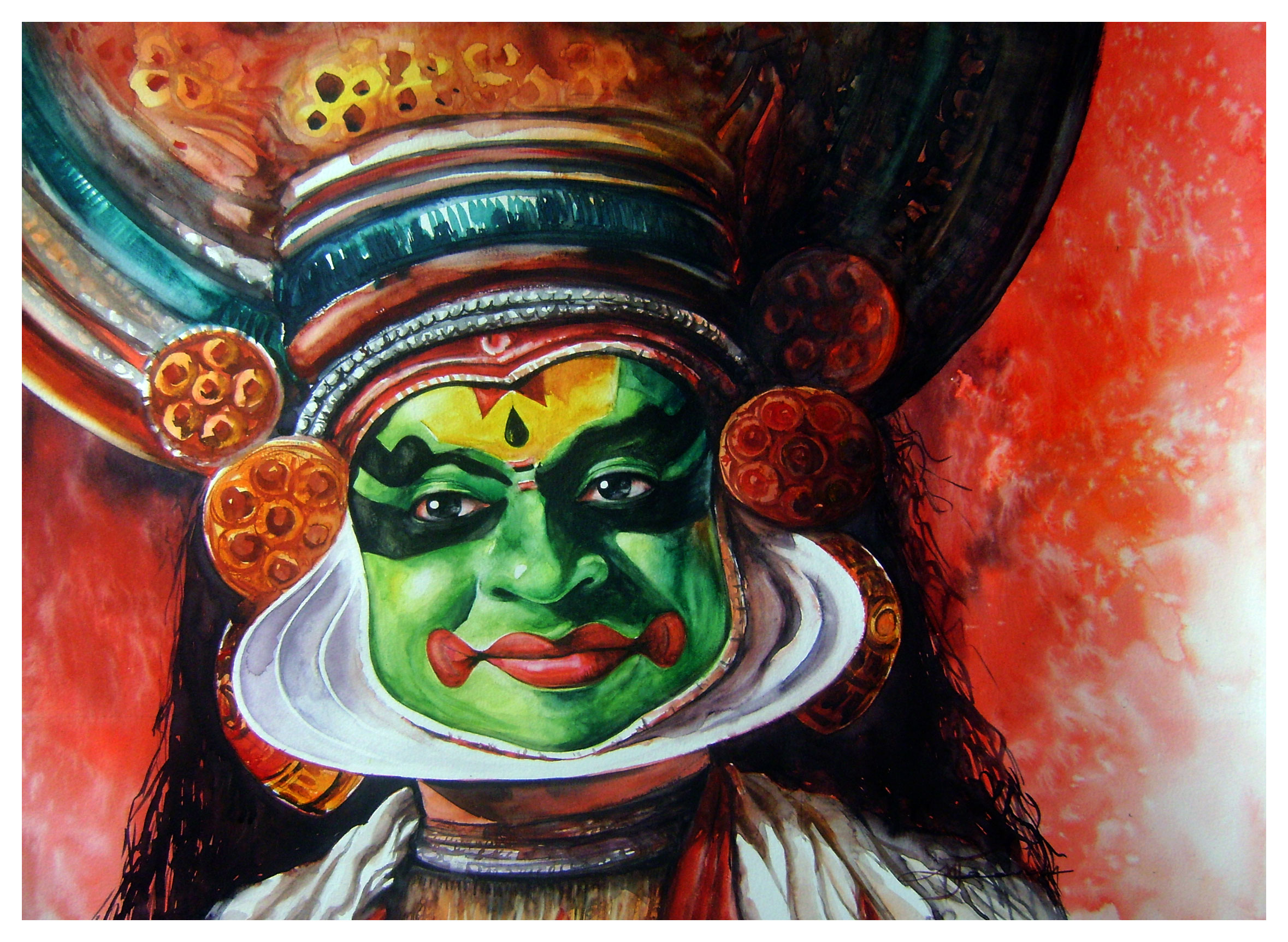 Kathakali Pictures Paintings