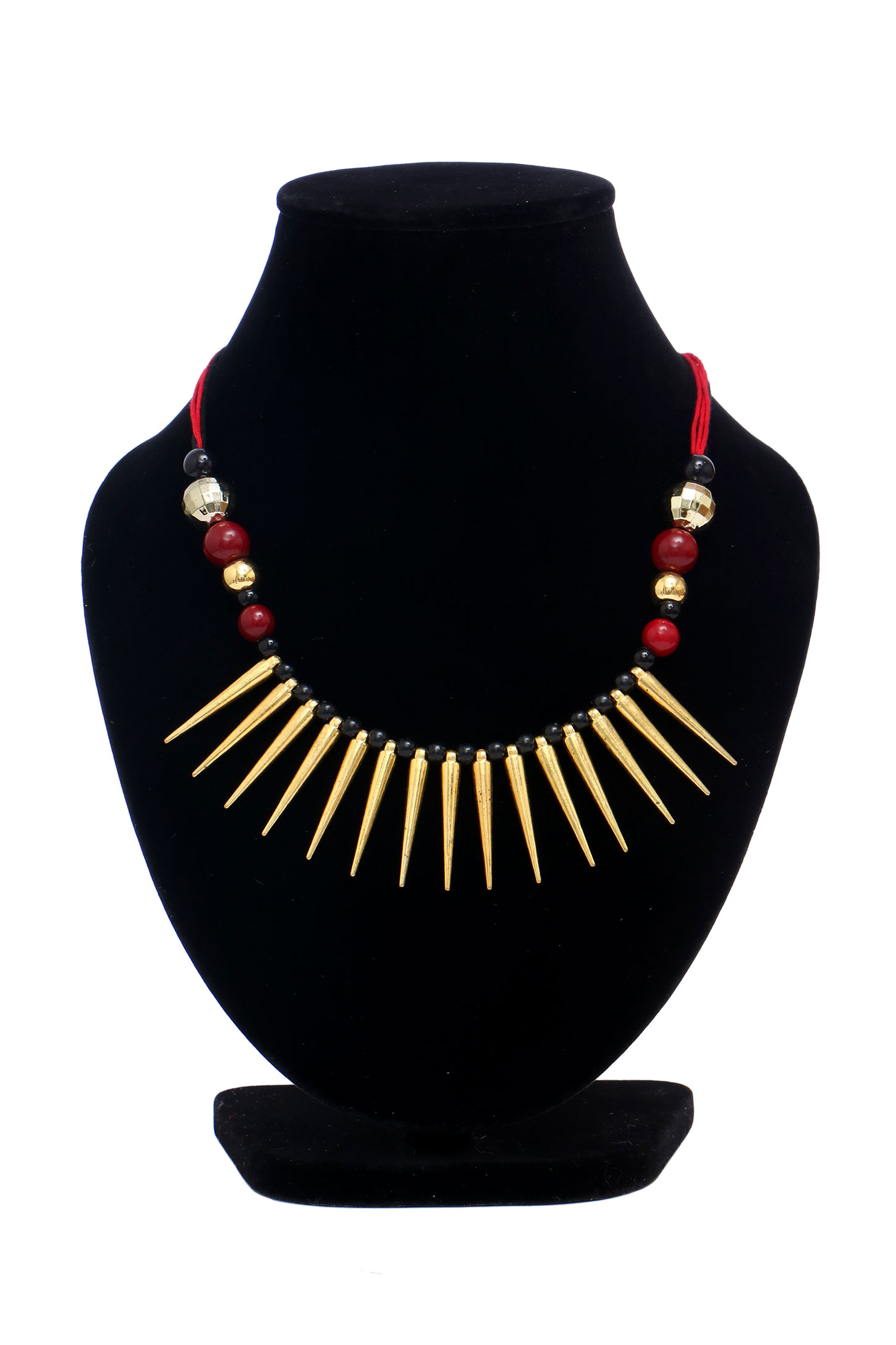 this art crimson indian pin marble gets traditional necklace neckpiece makeover a in